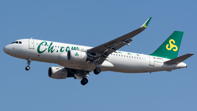 A picture of B6863 - Airbus A320214 - Spring Airlines - © BobH