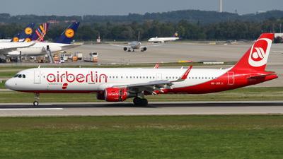 HB-JOX - Airbus A321-211 - Air Berlin (Belair Airlines)