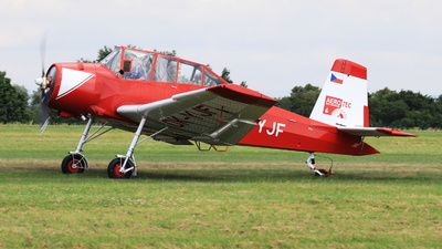 OK-YJF - Let Z-37 Cmelák - Private