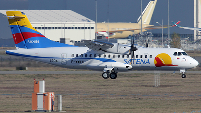 A picture of FWWLH - ATR 42600 - [] - © Yvan Panas