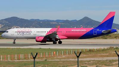 HA-LXJ - Airbus A321-231 - Wizz Air
