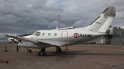 71 - Embraer EMB-121AN Xingú - France - Navy