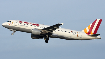 D-AIQD - Airbus A320-211 - Germanwings