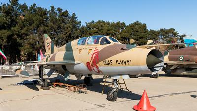 3-7721 - Chengdu F-7MB - Iran - Air Force