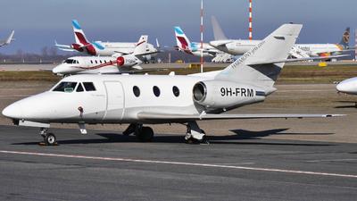 9H-FRM - Dassault Falcon 100 - Harmony Jets Malta