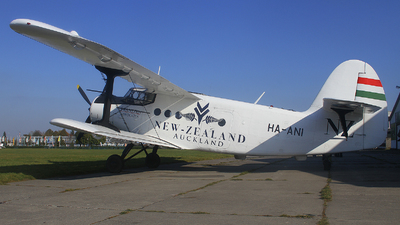 HA-ANI - PZL-Mielec An-2 - Stichting Antonov Texel