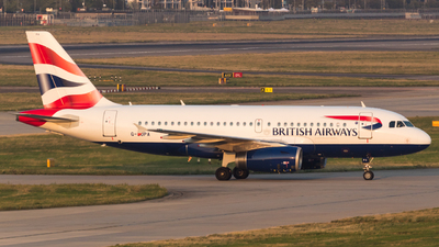 A picture of GEUPA - Airbus A319131 - British Airways - © RJL