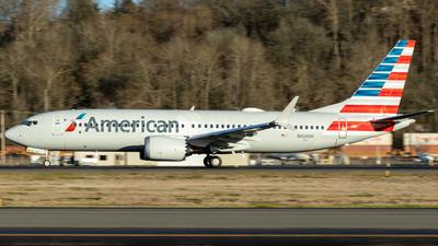 N324SH - Boeing 737-8 MAX - American Airlines