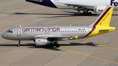 D-AGWL - Airbus A319-132 - Germanwings