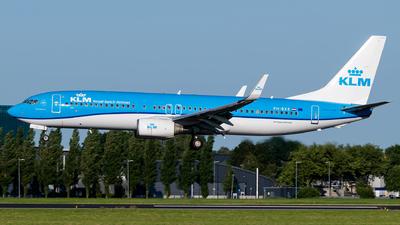 A picture of PHBXE - Boeing 7378K2 - KLM - © Kuba Majek