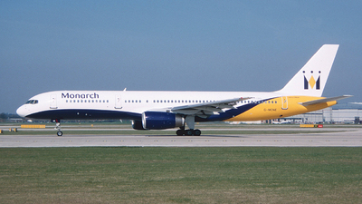 G-MONE - Boeing 757-2T7 - Monarch Airlines