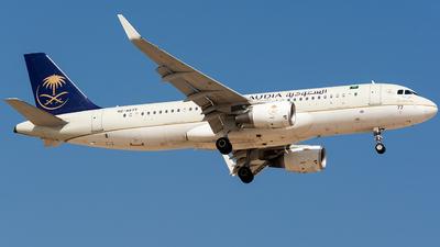 A picture of HZAS77 - Airbus A320214 - Saudia - © Basil Lutfi