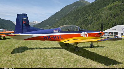 HB-HTC - Pilatus PC-7 - Private