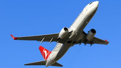 TC-JVY - Boeing 737-8F2 - Turkish Airlines