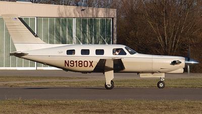 A picture of N9180X - Piper PA46350P Malibu Mirage - [4622075] - © Bertram Maron