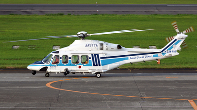 JA977A - Agusta-Westland AW-139 - Japan - Coast Guard