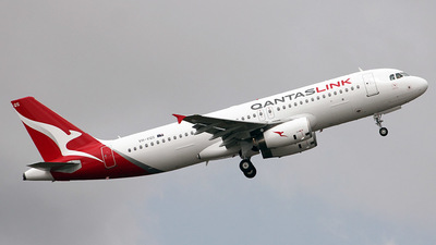 VH-VQS - Airbus A320-232 - QantasLink (Network Aviation)
