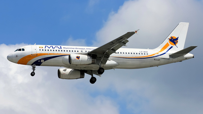 LZ-BHH - Airbus A320-232 - Myanmar Airways International (BH Air)