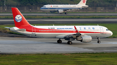 A picture of B8685 - Airbus A320214 - Sichuan Airlines - © BCG554