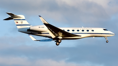 9K-GGD - Gulfstream G650ER - Kuwait - Government