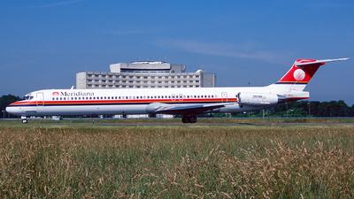 EI-CRJ - McDonnell Douglas MD-83 - Meridiana