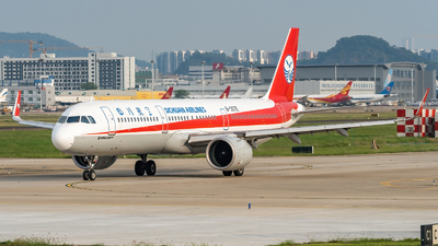 A picture of B307E - Airbus A321271N - Sichuan Airlines - © SINO6702