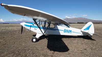 ZK-BNM - Piper PA-18-150 Super Cub - South Canterbury Aero Club