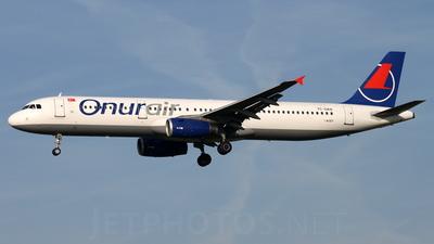 TC-OAN - Airbus A321-231 - Onur Air