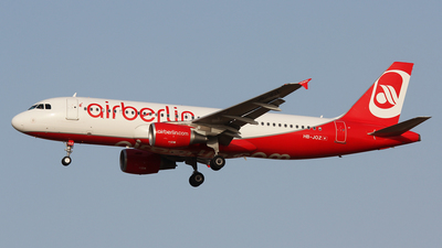 HB-JOZ - Airbus A320-214 - Air Berlin (Belair Airlines)