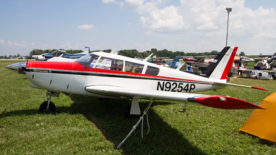 A picture of N9254P - Piper PA24260 - [244752] - © Jeremy D. Dando