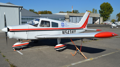 N543HY - Piper PA-28-140 Cherokee Cruiser - Private