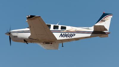 N968P - Beechcraft A36 Bonanza - Private