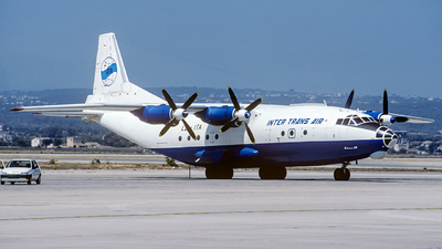 LZ-ITA - Antonov An-12BP - Inter Trans Air