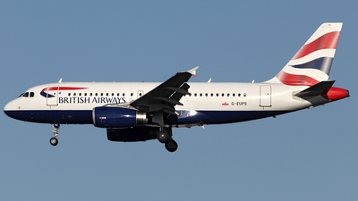 A picture of GEUPS - Airbus A319131 - British Airways - © Tombarelli Alessandro