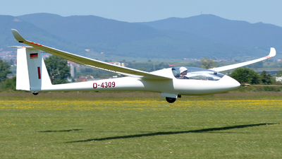 D-4309 - Rolladen-Schneider LS-6C - Private