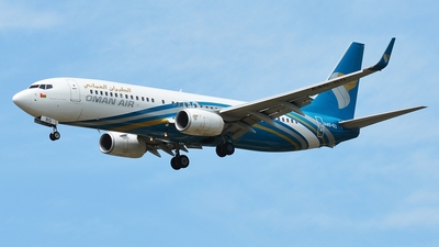 A4O-BQ - Boeing 737-81M - Oman Air