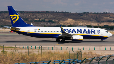 A picture of EIDPJ - Boeing 7378AS - Ryanair - © Enrique Rubira