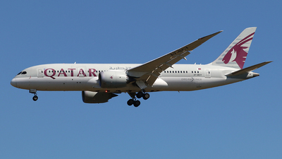 A7-BCY - Boeing 787-8 Dreamliner - Qatar Airways