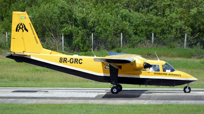A picture of 8RGRC - BrittenNorman BN2B27 Islander -  - © Jay Selman - airlinersgallery.com