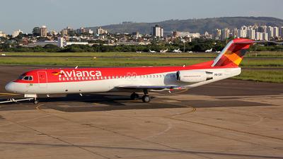 PR-OAI - Fokker 100 - Avianca Brasil