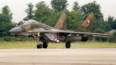 7501 - Mikoyan-Gurevich MiG-29A Fulcrum A - Czech Republic - Air Force