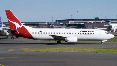VH-TJE - Boeing 737-476 - Qantas