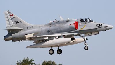 C-FGZH - McDonnell Douglas A-4N Skyhawk - Top Aces