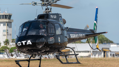 PR-GAP - Eurocopter AS 350B2 Ecureuil - Brazil - Military Police