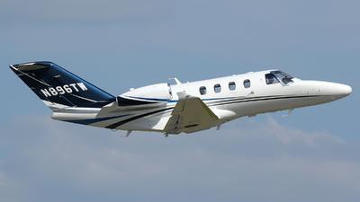 N896TW - Cessna 525 CitationJet M2 - Private