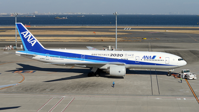 JA745A - Boeing 777-281(ER) - All Nippon Airways (ANA)