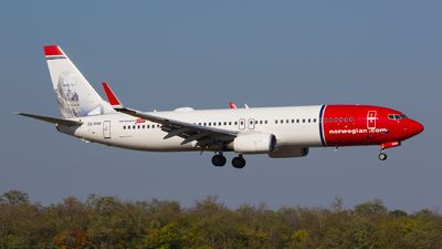 A picture of SERRF - Boeing 7378JP - Norwegian - © Gergely Molnár