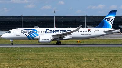 A picture of SUGFI - Airbus A220300 - EgyptAir - © Chris Jilli