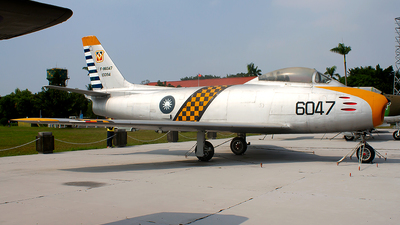6047 - North American F-86F Sabre - Taiwan - Air Force