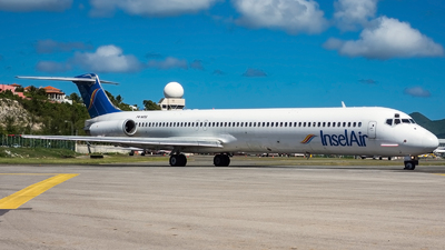 P4-MDG - McDonnell Douglas MD-83 - Insel Air